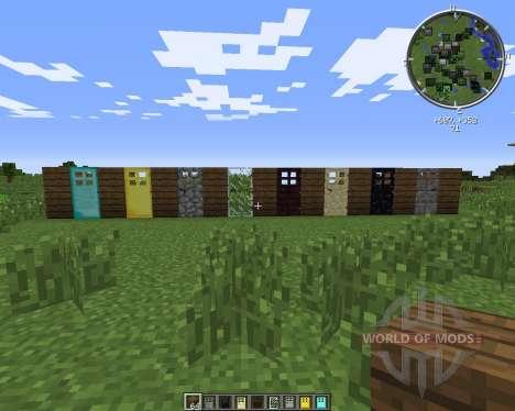 Extra Doors para Minecraft
