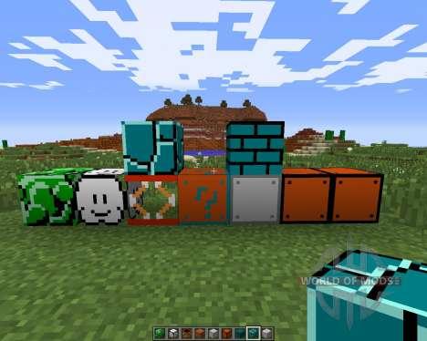 Super Mario para Minecraft