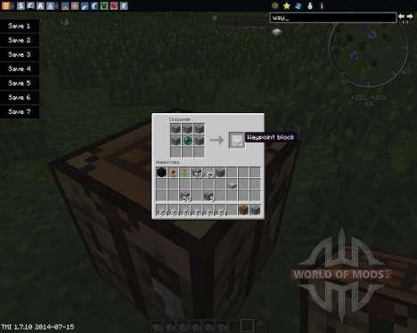 Waypoints para Minecraft