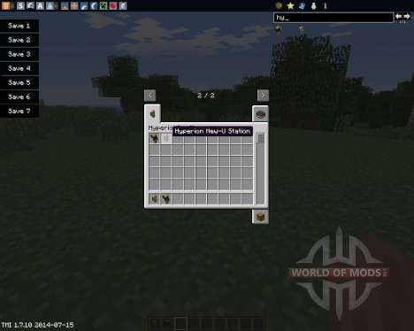 HyperionCraft para Minecraft