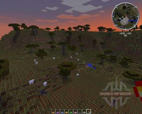 Light Level Overlay Reloaded para Minecraft