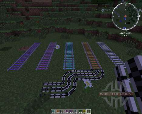 Expanded Rails para Minecraft
