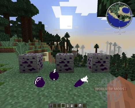 Obsidian Ores para Minecraft