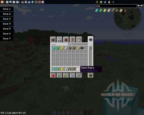 StairsPlusPlus para Minecraft