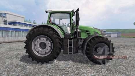 Fendt 933 Vario Green para Farming Simulator 2015