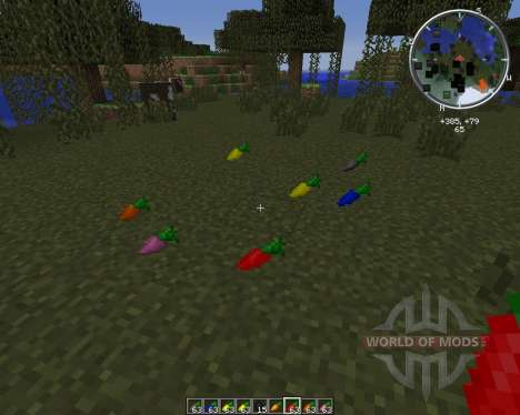 Useful Carrots para Minecraft