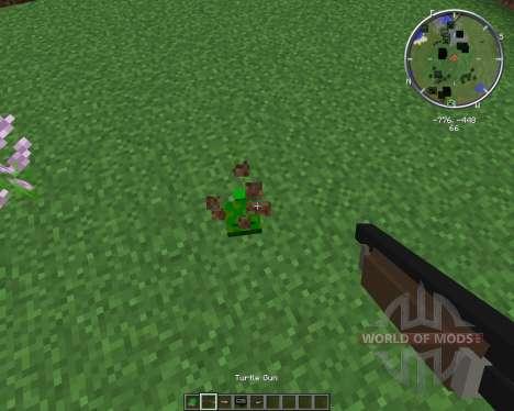Turtle Gun para Minecraft