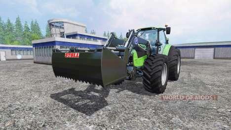 Deutz-Fahr Agrotron 7250 Forest King green para Farming Simulator 2015
