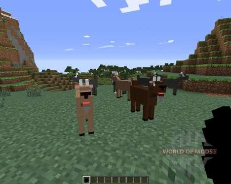 Goat para Minecraft