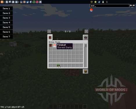 Pokeball para Minecraft