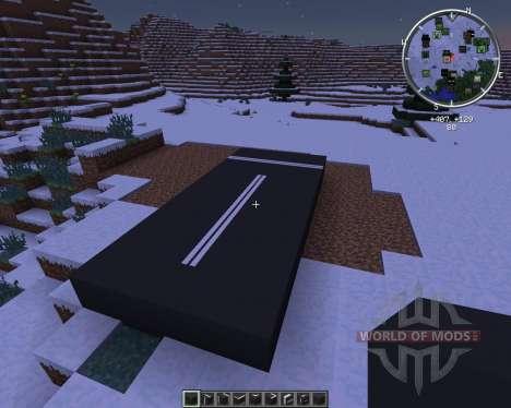 AsphaltMod para Minecraft