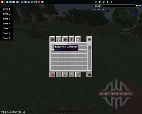 Enderman Disruptor para Minecraft