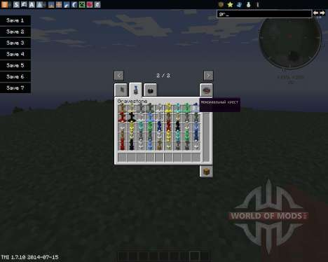Gravestone para Minecraft