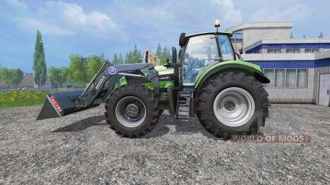 Deutz-Fahr Agrotron 7250 v2.2 Frontlader para Farming Simulator 2015