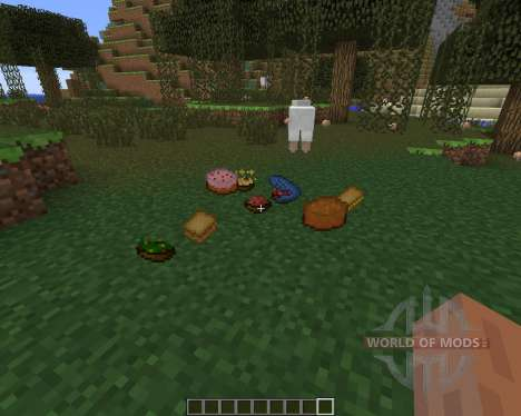 UsefulFood para Minecraft