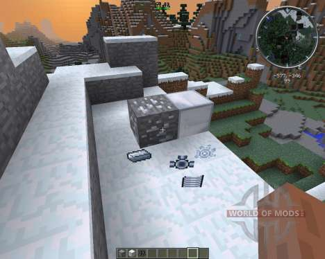 Movement Enhancement Suits and Armor para Minecraft