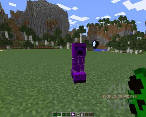 Creeper Species para Minecraft