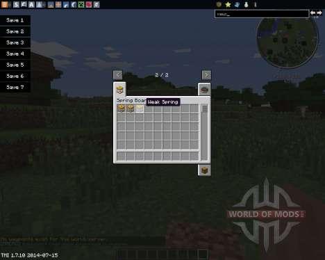 Springboards para Minecraft