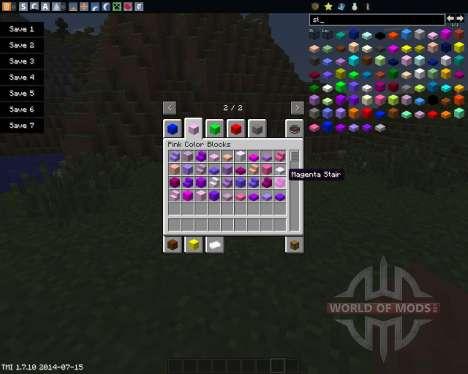 Color Blocks para Minecraft