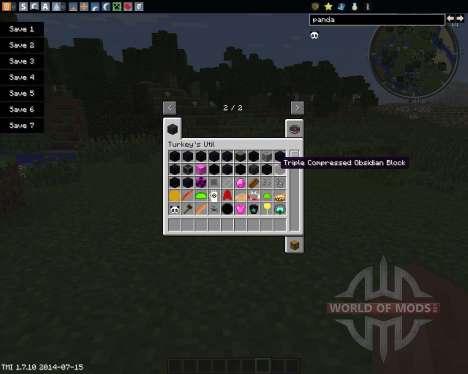 TurkeyUtil para Minecraft