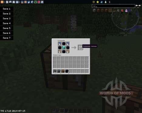 Craftable Bedrock para Minecraft