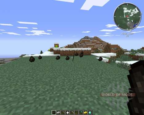Throwable Everything para Minecraft