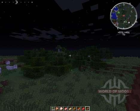 Clock HUD para Minecraft