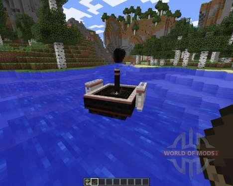SteamBoat para Minecraft