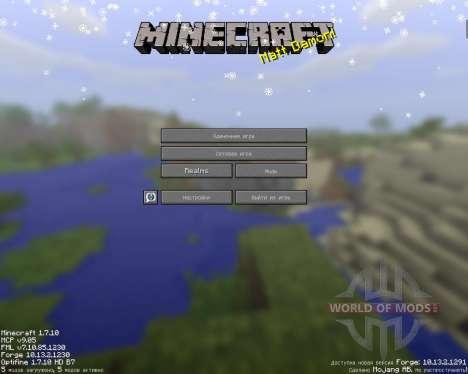 SnowTime para Minecraft