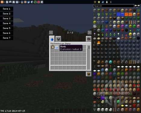Craftus Machinilorum para Minecraft