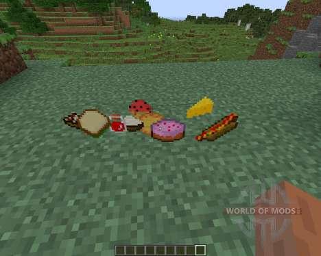 Food Plus para Minecraft