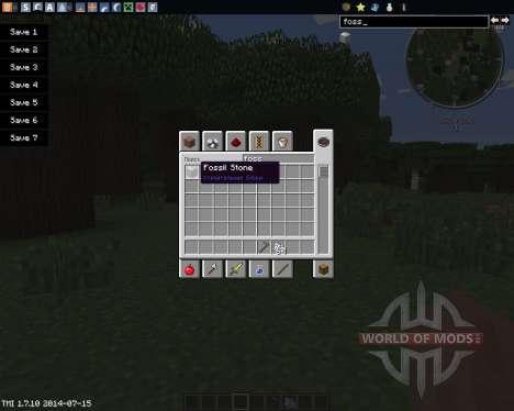 MC Fossil para Minecraft