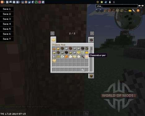 Cheese para Minecraft