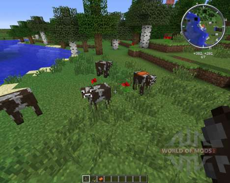 Rideable Cows para Minecraft