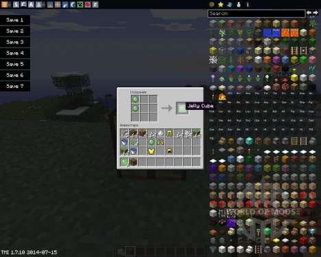 Jelly Cubes para Minecraft