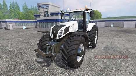 New Holland T8.320 620EVOX v1.1 para Farming Simulator 2015
