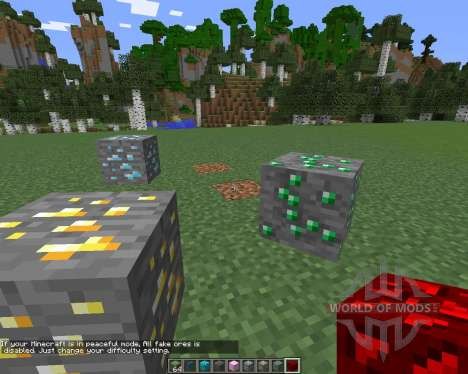Fake (Monster) Ores para Minecraft