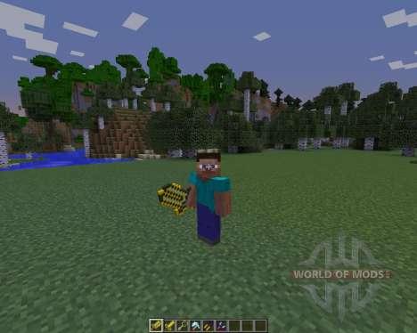 CST7 Weapons para Minecraft