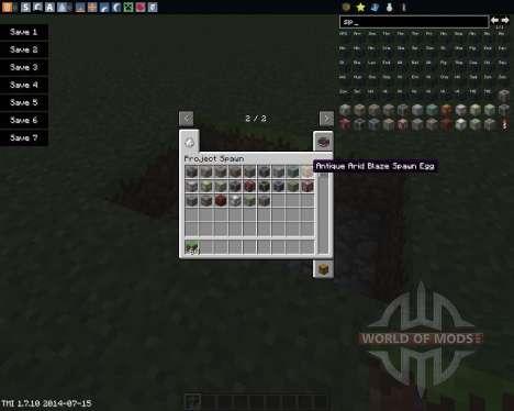 Project Spawn para Minecraft