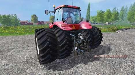 Case IH Magnum CVX 380 dynamic rear twin wheels para Farming Simulator 2015