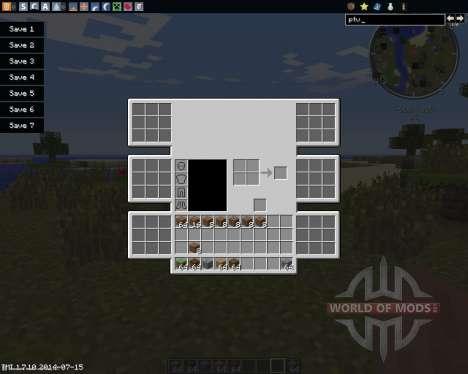 Advanced Inventory para Minecraft