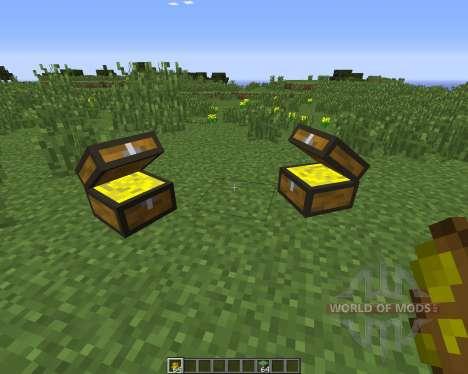 Treasure Chest para Minecraft