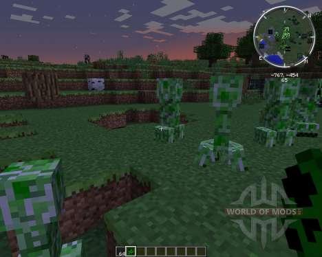 NoCreeperExplosions para Minecraft