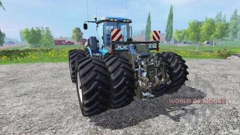 New Holland T9.560 with dynamic twin wheels para Farming Simulator 2015
