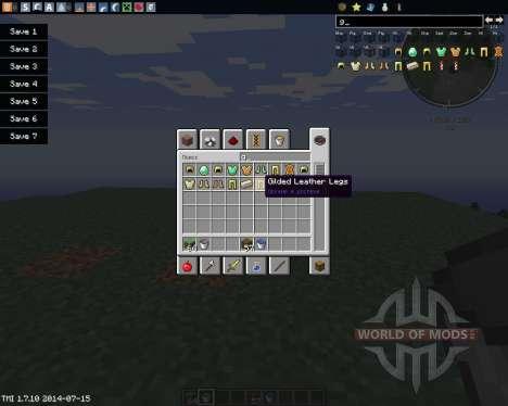 Gilded Armor para Minecraft