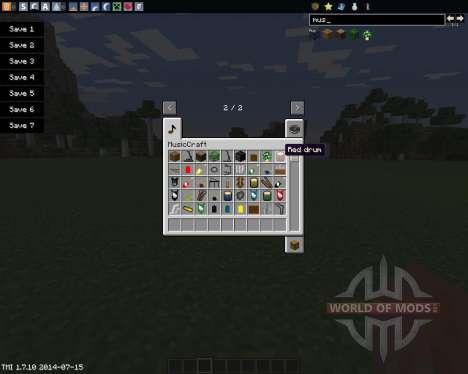 MusicCraft para Minecraft