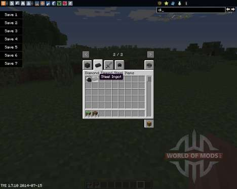 Diamond Tipped Steel para Minecraft