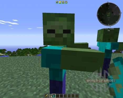 CrackedZombie para Minecraft