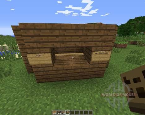 FlatSigns para Minecraft