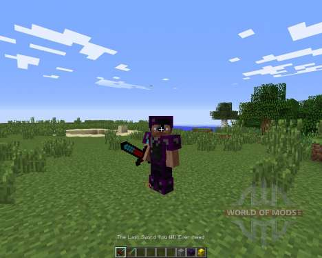The Last Sword You Will Ever Need para Minecraft